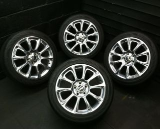 17 Polished 2013 Factory Dodge Dart Wheels Rims Continental Tires
