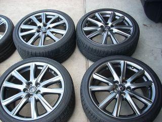 19 2013 Lexus gs350 F Sport Wheels Tires Rims Bridgstone GS450