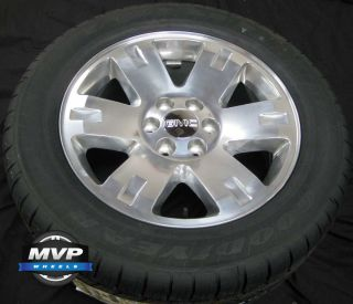 Yukon 2007 2008 2009 2010 2011 2012 2013 Wheels Rims Tires Set 4