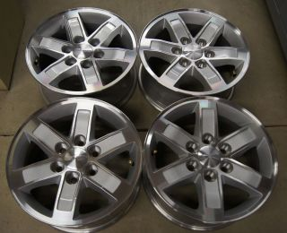 New 2013 GMC Sierra Yukon Factory 17 Wheels Rims Chevy Silverado