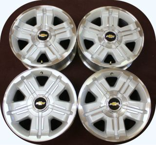 2007 2013 Chevy Silverado 18 Z71 Factory GM Wheels Rims TPMS Sensors