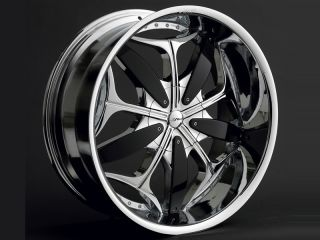 22 inch Ragno Dvinci Wheels rims Tires fit Charger 300 Magnum