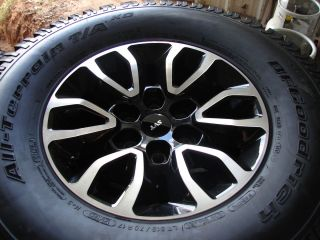 17 Ford F 150 Raptor Alloy Wheels Rims with BFGoodrich Tires