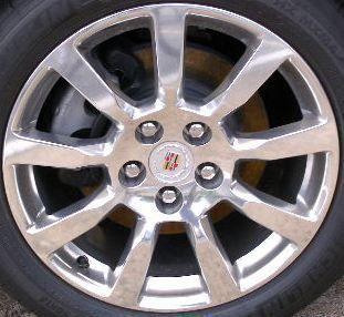 Cadillac cts V6 18 Wheel Rim 4627