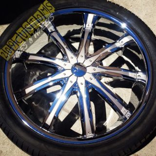 Wheels Rims Tires Silver DW29 5x120 Chevrolet Camaro 2010 2011 2012
