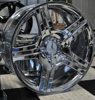 MERCEDES 19 INCH AMG STYLE CHROME RIMS BRAN NEW ML R CLASS S500 S550