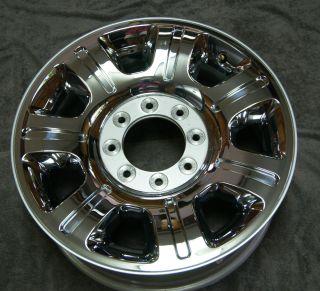 20 Ford F250 F350 Factory Chrome Clad Wheel Rim 2012