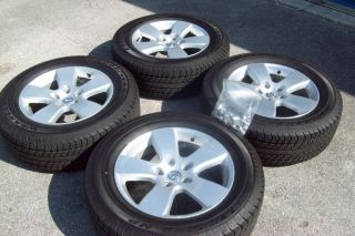 2012 Dodge RAM 1500 20 Wheels Tires Rims Silver Factory 5 Spoke Gray