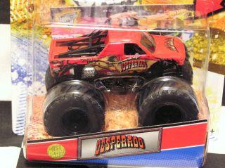 Hot Wheels 2012 Desperado w Topps Card Monster Jam Truck