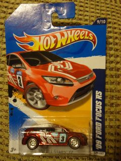 Hot Wheels 2012 Super Treasure Hunt 09 Ford Focus RS