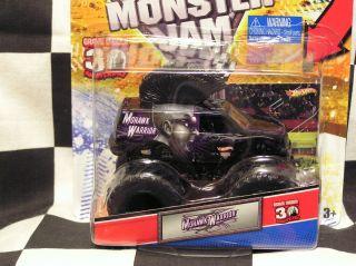 Hot Wheels 2012 Mohawk Warrior w Topps Card Monster Jam Truck