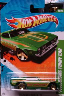 2011 Hot Wheels Treasure Hunt Mustang Funny Car Ships World Wide