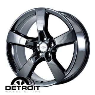 Chevrolet Camaro 2010 2011 PVD Black Chrome Wheels Rims Factory 5448