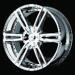 22 inch Wheels Rims Chrome 2010 Chevy Camaro Lt SS G8