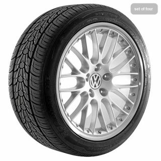 20 Silver VW 2010 Volkswagen Touareg Wheels Rims Tires