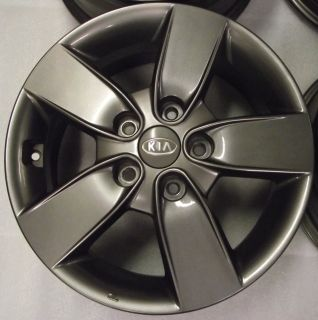 "2011–2013 Kia Forte Koup 16"" Charcoal Alloy Wheel Rim Wheels Rims"