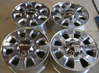 NEW 2011 13 GMC Sierra HD 2500 3500 8 Lug 18 OEM Factory Wheels Rims