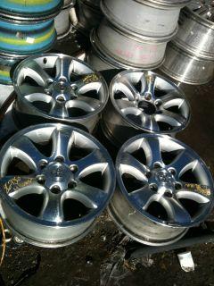 2003 2004 2005 2006 2007 2008 Toyota 4Runner 17x7 5 Wheels Rims