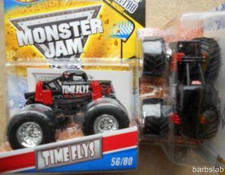 2011 Hot Wheels Monster Jam 56 Time Flys Truck New