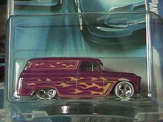 Hot Wheels 55 Chevy Panel 2009 Collector Edition