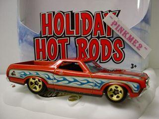 2010 Hot Wheels Holiday Rods 72 Ford Ranchero★orange★