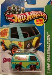 Hot Wheels 2012 Scooby Doo Mystery Machine Die Cast 1 64 Scale New