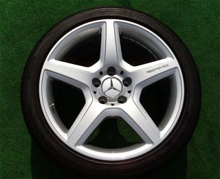 2009 Mercedes Benz AMG 18 E550 Sport Wheels Tires