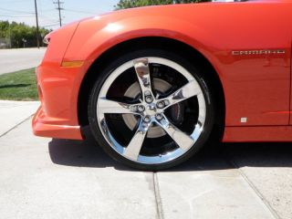 22x9 2010 Camaro SS Wheels Rims Chrome