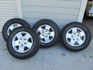 2007 Toyota Tundra Wheels Tires 18