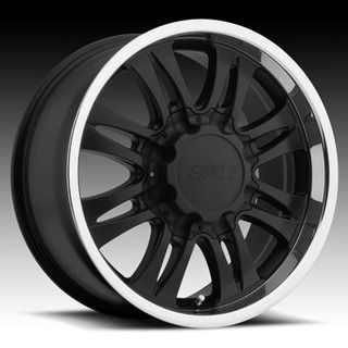American Eagle Style 059 Wheels Rims 17 x 8 6 x 5 5 Black Polished