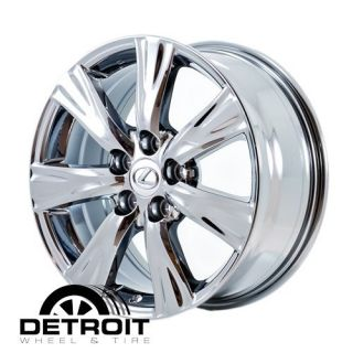 GS350 GS460 2008 2011 PVD Bright Chrome Wheels Rims Factory 74209