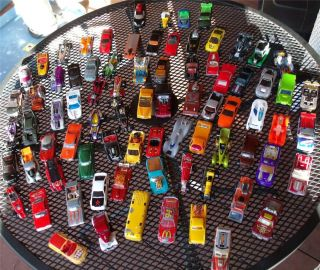 80 PC Lot Hot Wheels Die Cast Metal Cars 1977 2008