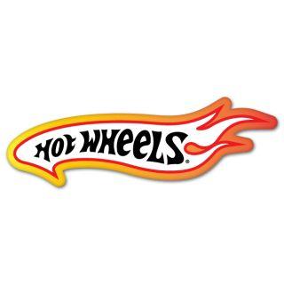 Hot Wheels Car Styling Auto Moto Sticker 7 x 2