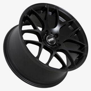 VMR V710 Matte Black Wheels Rims Fit Audi S5 B8 2007 2012 Q5