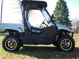Polaris RZR B6 ATV Aluminum Wheels New Set 4 Lifetime Warranty