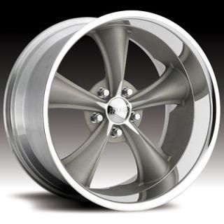 Boss Motorsports Style 338 Wheels Rims 18x8 5x4 5 14mm Gray