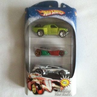 Hot Wheels 3 Pack Holiday Hot Rods 2007