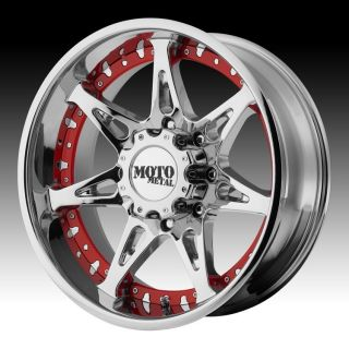 20 inch 20x9 Moto Metal Chrome Wheels Rims 5x150 18 Toyota Tundra