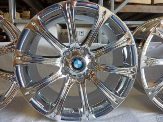 19 Fits BMW 5 Series 7 Series M5 Chrome Wheels Rims