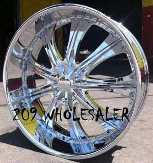 30 inch RSW33 Rims and Tires Charger Magnum Chrysler 300 Explorer