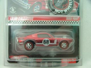 2008 Hot Wheels RLC Red Line Club Boss Hoss Red