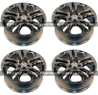 of 4 Acura Chrome Look Rim Rims Wheel Wheels Accessory 19 Inch