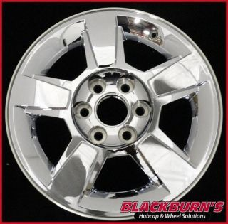 09 10 11 Chevy Silverado Tahoe Yukon 18 Chrome Clad Wheel Used Rim