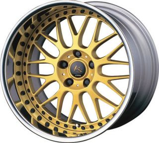 18 Work vs XX Gold Rims Wheels E36 E46 Z3 Z4 M3 x3 X5