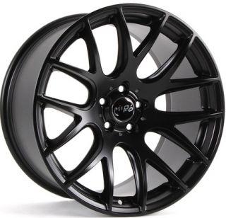 Wheels For Audi A4 Quattro VW Passat CC Rims Set Matte Black Finish