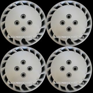 13 Bolt on Hub Caps Full Wheel Covers Rim Cover 4 Lug Steel Wheels