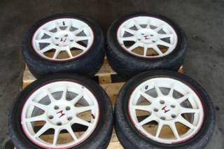 JDM Honda Integra ITR DC2 Rims Wheels with Tires Type R Civic 5x114 3