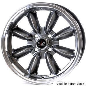 17 Rota RB Black Rims Wheels 17x7 5 45 4x100 Mini Cooper Clubman s Fit
