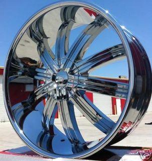 22 RW11 Wheels Rims 5x127 Chevy Impala SS Caprice 91 92 93 94 95 96
