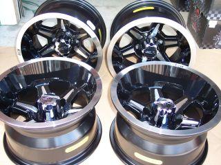 12 B6 Golf Cart 205 30 12 Tire Wheel Kit Dot Approved Complete Kit